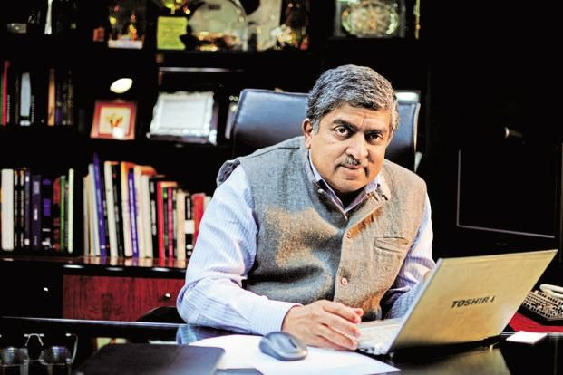 Infosys co-founder and former UIDAI chief Nandan Nilekani says the size of his and Sanjeev Aggarwal's start-up fund—The Fundamentum Partnership—could be increased to $200 million if it finds enough lucrative bets. Photo: Mint