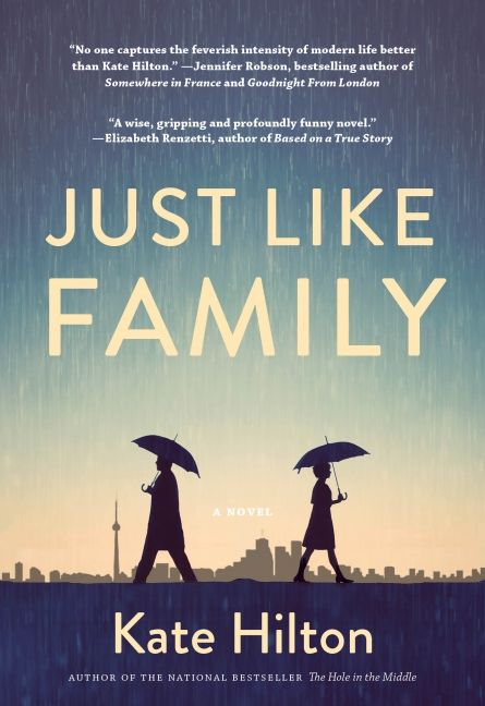 Just Like Family by Kate Hilton is this week's 50 Book Pledge Featured Read! Add it to your To Read shelf today!