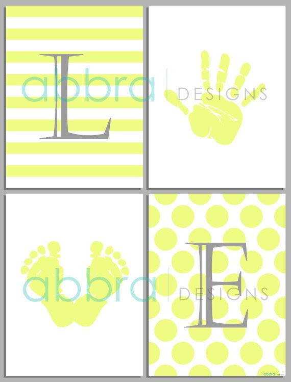 SET OF 4 UNFRAMED PRINTS. These LOVE hand and footprints would make a great addition to any baby nursery, kids room, playroom, bathroom or they would also make a great gift.  This listing includes four high quality unframed prints that are available in: SIZE OPTIONS (available from the drop-down menu) • 5 x 7 inches • 8 x 10 inches • 11 x 14 inches • If you need a special size just contact me. PRODUCT OPTIONS (available from the drop-down menu) • High quality print on 250gsm photo paper •…