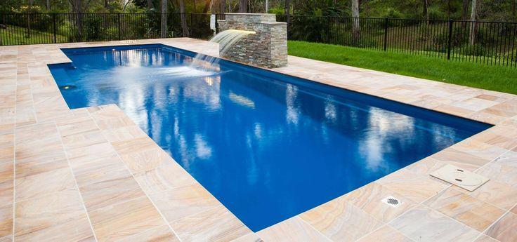 Best 25 Fiberglass Swimming Pools Ideas On Pinterest Small Fiberglass Inground Pools Small