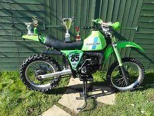 Kawasaki KDX175 A1 1980 Classic Enduro Vinduro Off Road Bike - has NOVA & MOT