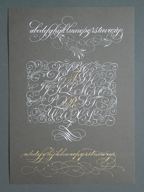 343 Best Images About Calligraphy Spencerian