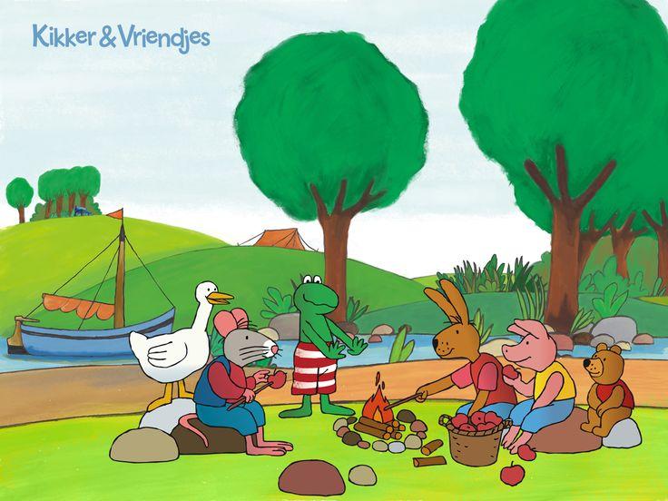 Kikker en vriendjes.by Max Veldthuis