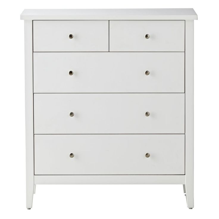Blake White 5-Drawer Dresser | The Land of Nod