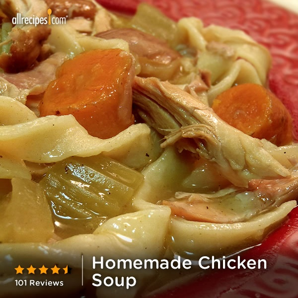 Chicken Noodle Soup From Scratch Recipe - Group Recipes