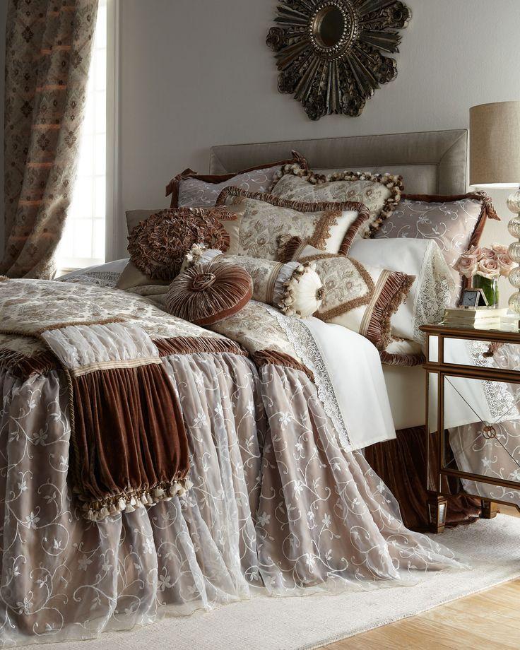 Matouk Quot Relais Quot Bed Linens Horchow Home Decor Luxury