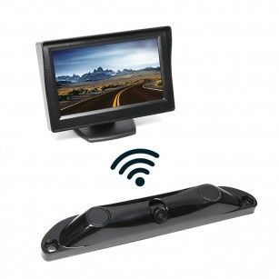 Rear View Safety Wireless Backup Camera System with Built-in Sensors RVS-5350-W