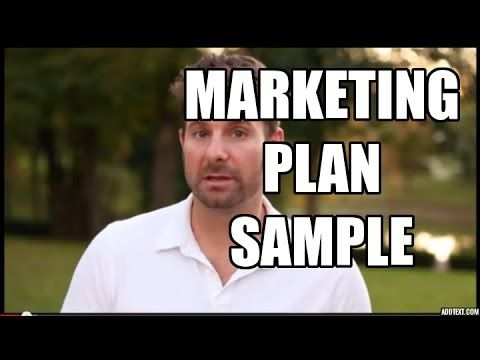 Marketing Plan Sample - 5 Simple Steps to Market Any Business - YouTube