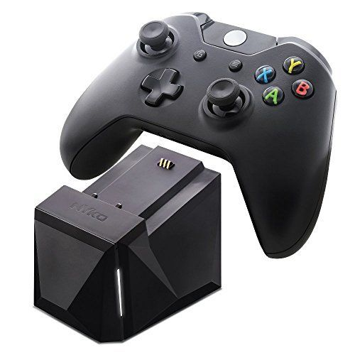 Conveniently store and charge your Xbox One controller with Nyko's Charge Block Solo for Xbox One. The Charge Block Solo for Xbox One comes with a 1,200mAh battery and a replaceable battery cover. This allows for an easy drop and charge design, no cord, wires or plug needed. Connect multiple...