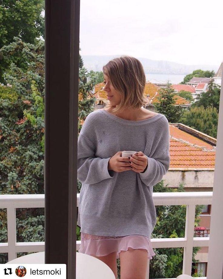 Hava balkon keyfi yapmaya engel değil  #Repost @letsmoki  Herkese yeni bir haftadan günaydınn  #goodmorning #morning #monday #beautiful #positivevibes #positiveday #buyukada #serguzest #happy #casual #day #cloudy #coffee #time #blondie #girl
