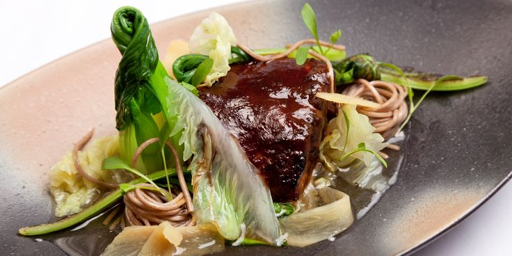 Dave Watts marinates black cod in a superb mix of Japanese flavours, including miso, sake and mirin.