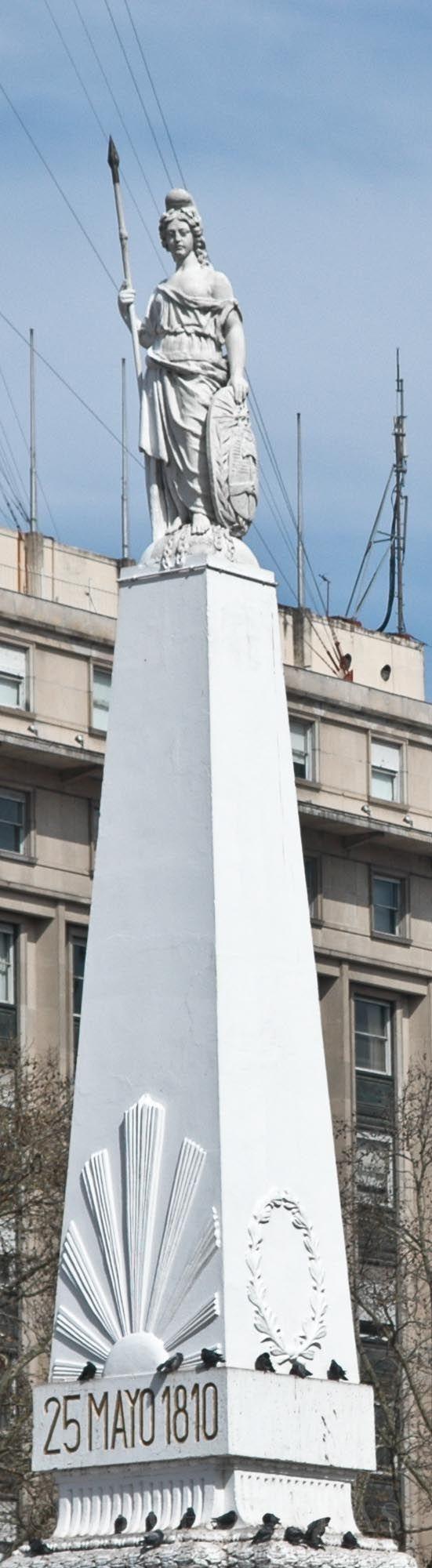 Monumento Plaza del 25 de Mayo , conocida como Piramide de Mayo , es un emblema…
