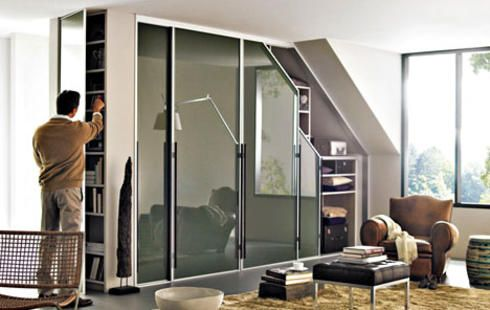 die besten 25 schiebet r einbauen ideen auf pinterest begehbarer kleiderschrank mit. Black Bedroom Furniture Sets. Home Design Ideas