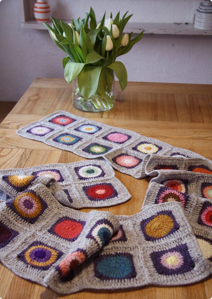table runner crochet