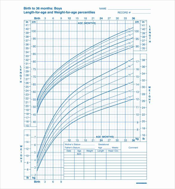 40 Average Baby Weight Chart in 2020   Baby weight chart ...