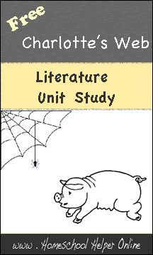 Homeschool Helper Online's Charlotte's Web Unit Study-- tons of other chapter by chapter books with vocabulary and activity discussions