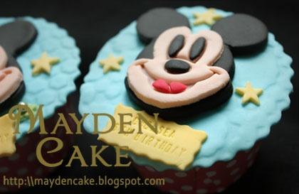 Mikke cupcakes