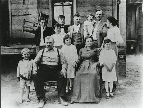 Paul William Bryant ( pictured in front, far left) was born in Moro Bottom, Arkansas.The family, which eventually included 11 siblings , later moved to Fordyce where he began playing football in the 8th grade and where he earned a nickname that would last a lifetime and beyond.