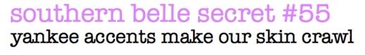 southern belle secret #55