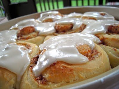 sourdough cinnamon rolls.   recipe includes sourdough starter.