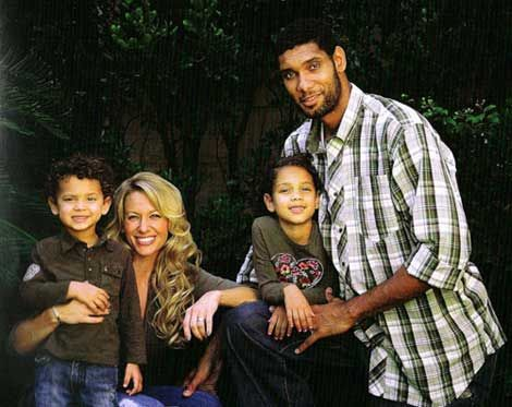 Tim+Duncan's ang then wife.