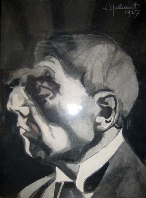 Léon Spilliaert - Autoportrait, 1927