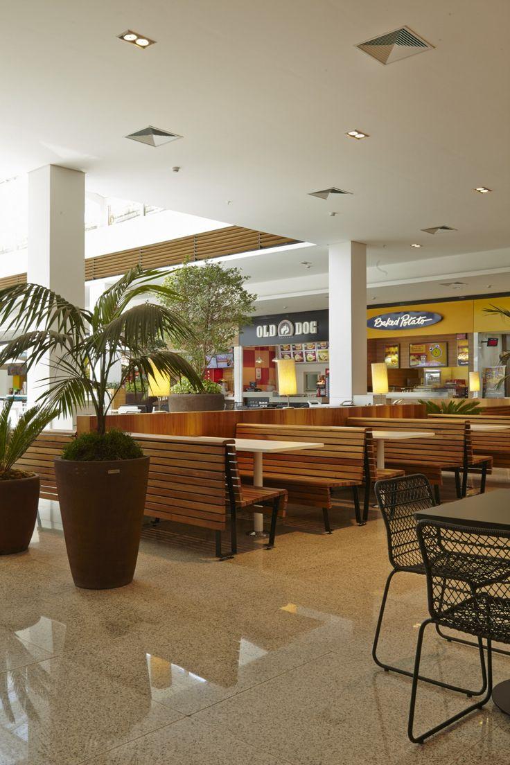 Praça de Alimentação Shopping Iguatemi SP Brasil   Lovisaro