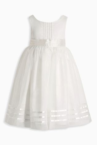 Buy Ivory Sash Bridesmaid Dress (3mths-16yrs) from the Next UK online shop