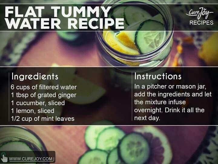Flat belly water