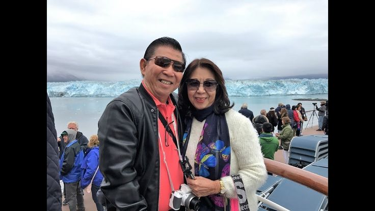awesome HUBBARD GLACIER - ALASKA CRUISE on Celebrity INFINITY, AUGUST 2017.