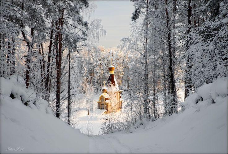 Храм Апостола Андрея Первозванного на Вуоксе - Мастерок.жж.рф