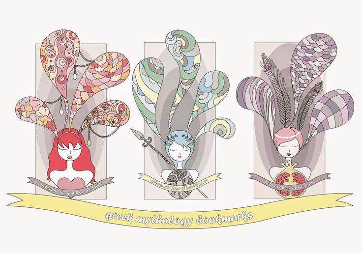 nevrotik bakıs: Yunan Mitolojisi Kitap Ayraçları