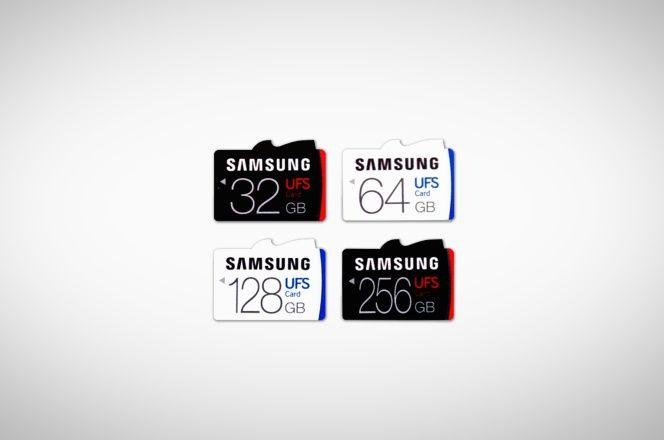Primero vinieron las tarjetas SD, luego las mniSD y finalmente las microSD ¿qué es lo siguiente? Pues ya algo real y Samsung presenta las primeras tarjetas UFS del mercado que tienen capacidades de hasta 256 GB.