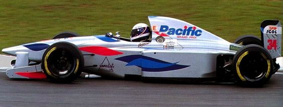 Pacific PR01 Ilmor GP 1994 Gashot Brazil.jpg
