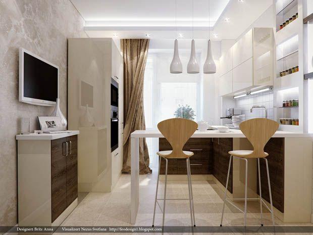 ออกแบบห้องครัวเล็กๆ