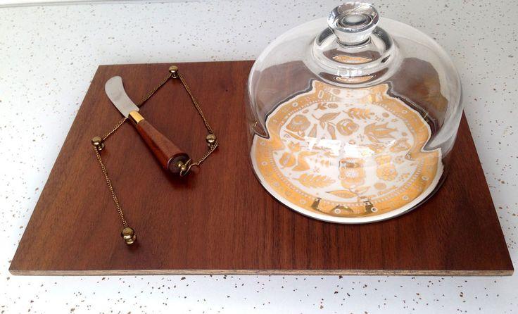 Vintage Mid-Century Modern Georges Briard Cheese Plate #Vintage #Midcenturymodern #GeorgeBriard #Cheese #Thriftytrendz
