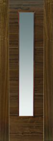JB Kind Mistral Glazed Walnut Internal Door