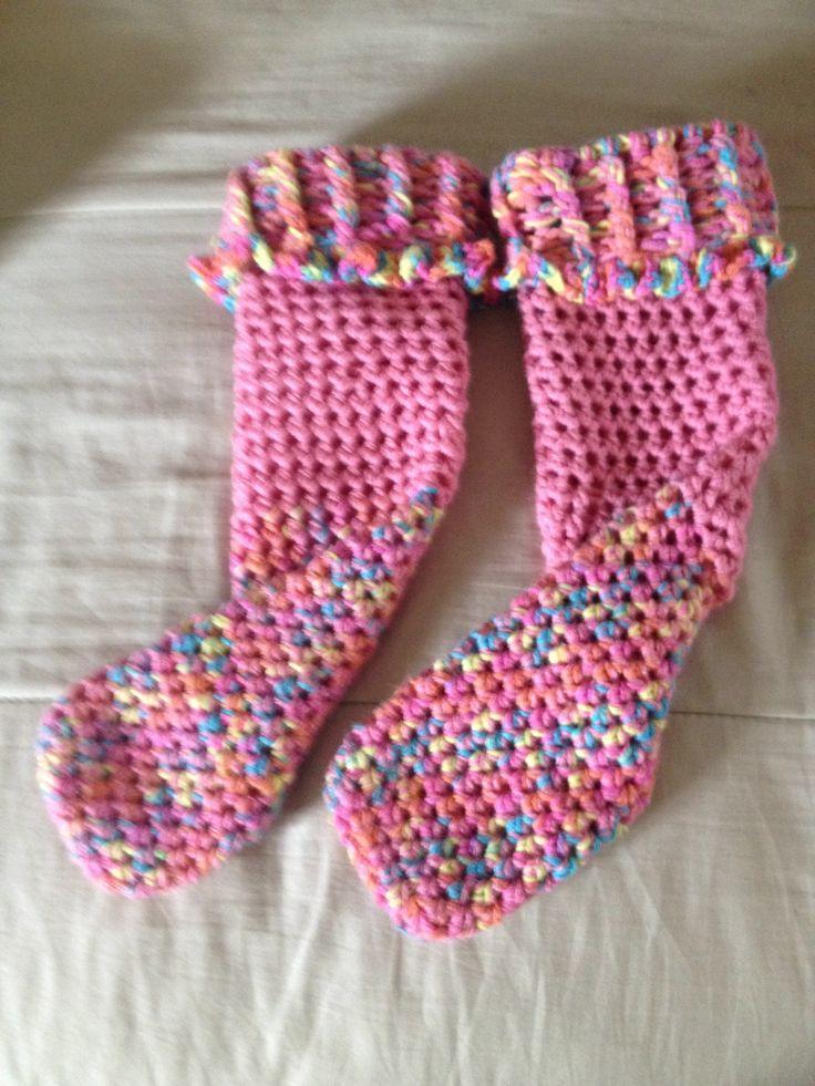 Calcetas a crochet