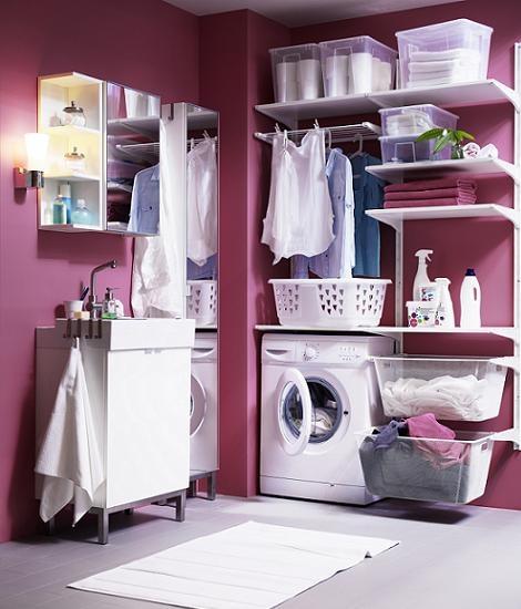 Cuarto de lavar Ikea
