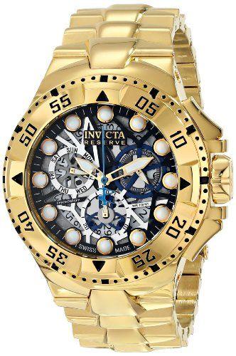 Invicta Men's 15979 Excursion Analog Display Swiss Quartz Gold Watch Invicta http://www.amazon.com/dp/B00IJTGHSI/ref=cm_sw_r_pi_dp_MWX4ub1F772DV