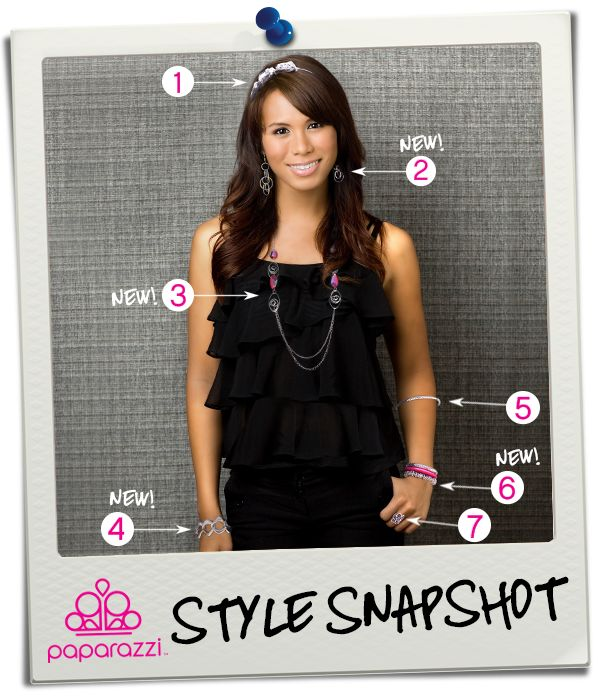 { Style Snapshot } Add a splash of color to that little black dress!