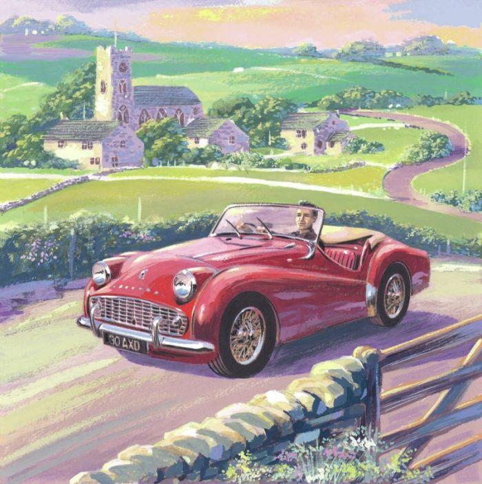 Best Auto Nell Arte Images On Pinterest Automotive Art