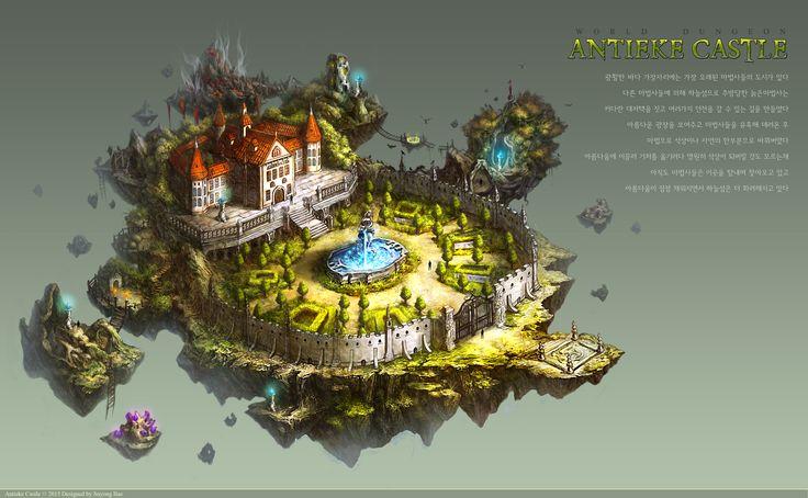 GGSCHOOL, Artist 배수용, Student Portfolio for game, 2D Scene Concept Art, www.ggschool.co.kr