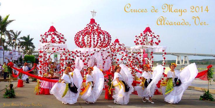 Cruces de mayo #alvarado #veracruz #mexico