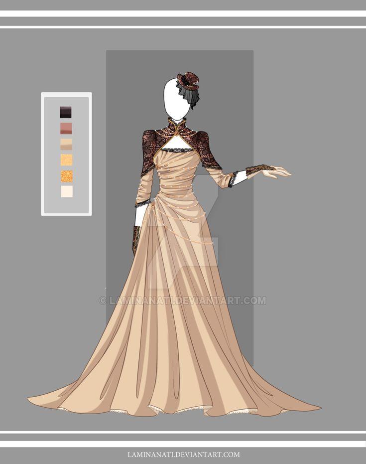Adoptable outfit 24(closed) by LaminaNati.deviantart.com on @DeviantArt