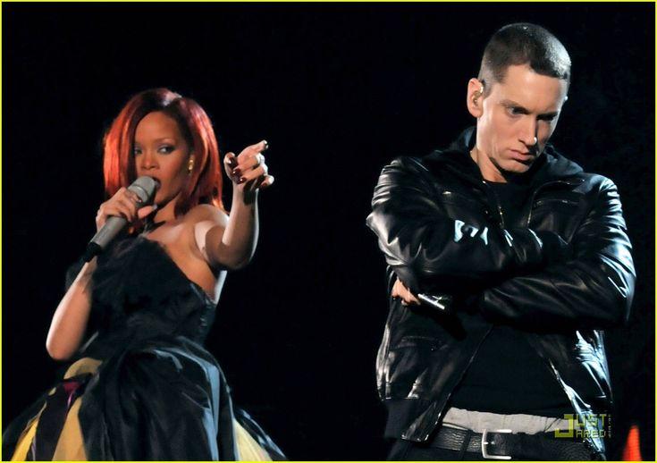 Eminem | Rihanna: Grammy Performance with Eminem & Dr. Dre! | rihanna eminem ...