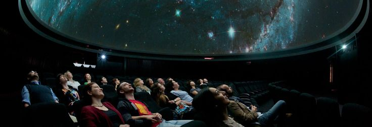 Audience enjoying a planetarium show at the Royal Observatory