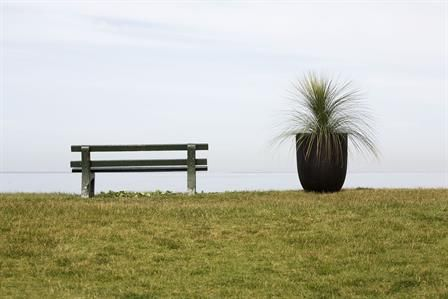The Seaton pot by the beach.