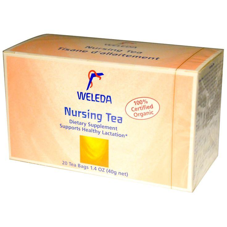 Weleda, Чай для кормящих матерей, 20 пакетиков, 1.4 унции (40 г)