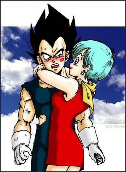 Vegeta & Bulma. Still the number one mystery of the franchise...